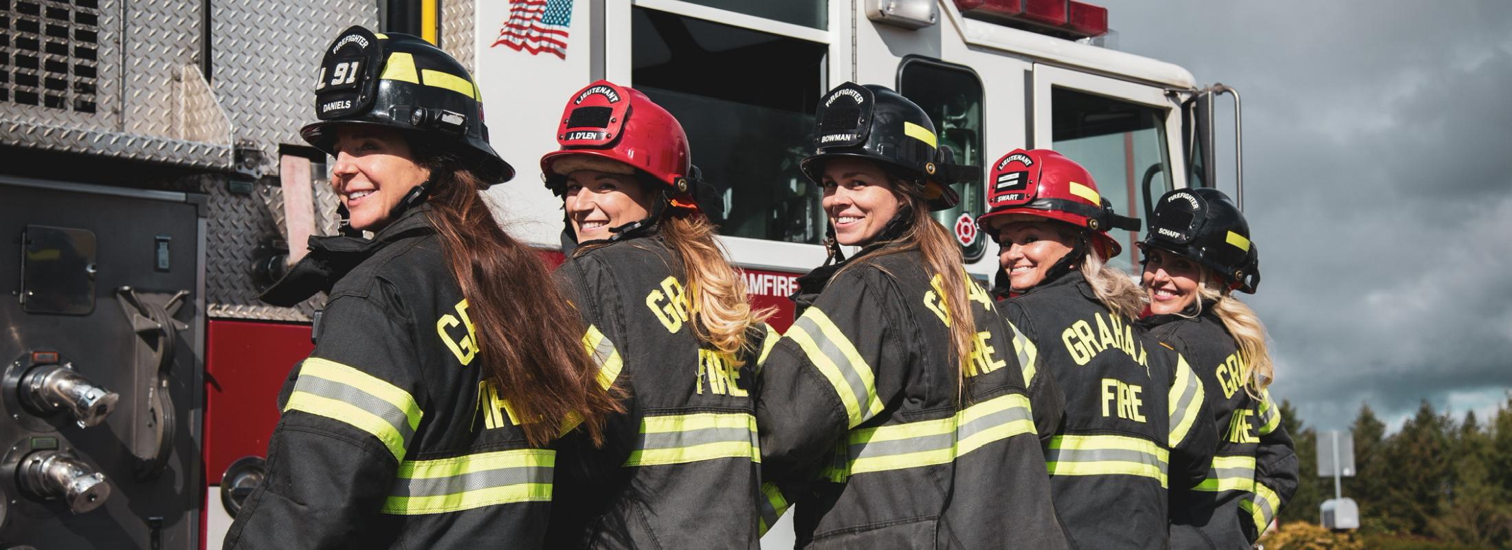 Female Fire Camp