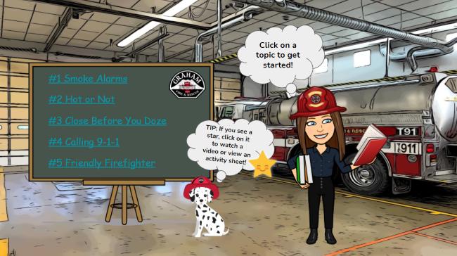 K 1st Grade Fire Safety
